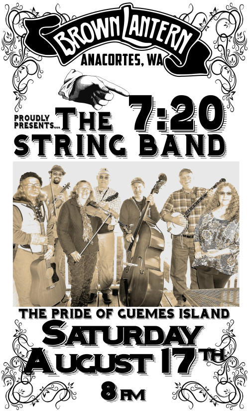 720 String Band, Saturday, August 17th, 2019 @ 8pm