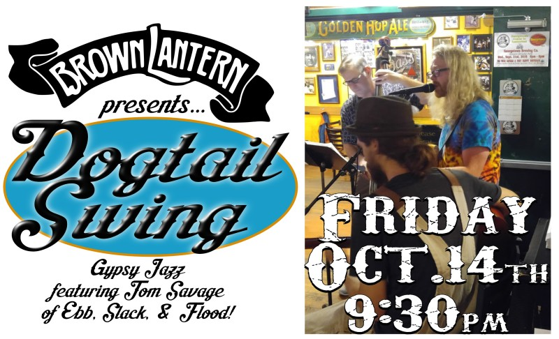 Dogtown Swing, Friday, October 14th, 9:30pm