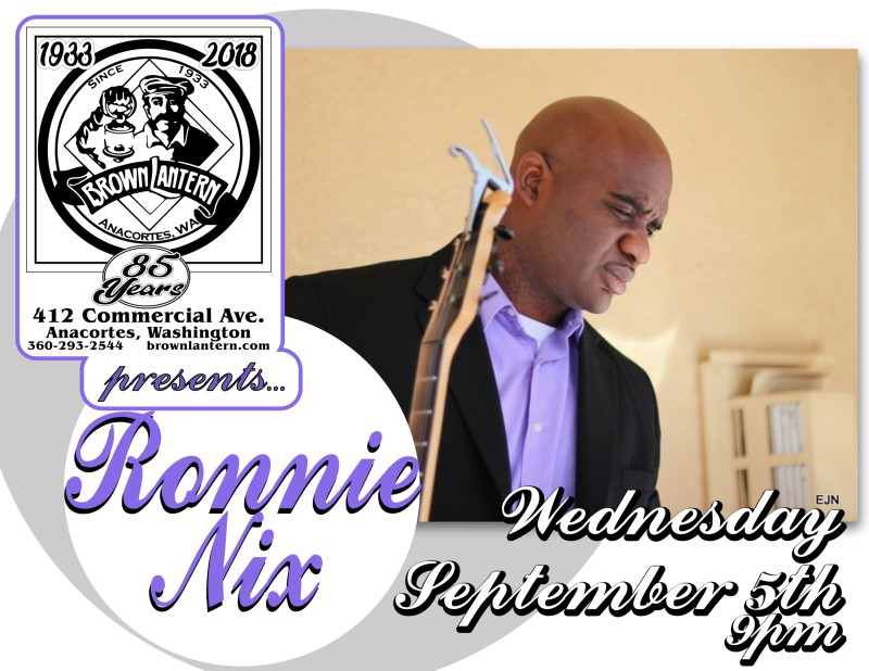 Ronnie Nix, Wednesday, September 5th, 2018 @ 9pm