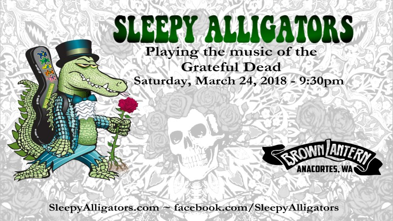 Sleepy Alligators, Saturday, March 24th, 2018 @ 9:30pm