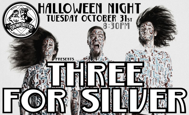 Three For Silver, Saturday, September 3rd, 9:30pm