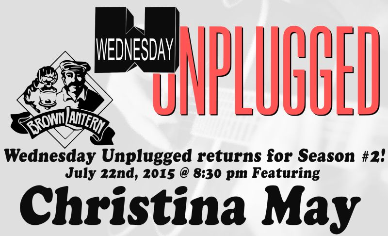 Wednesday Unplugged, featuring Pete Irving, Wed., Oct. 29th, at 8:30pm